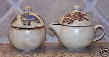 Mara Stoneware Desert Sugar & Creamer Set Southwestern