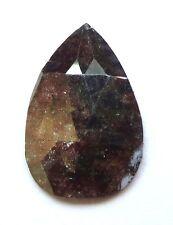 0.91 CARATS Pear Shape ROSE CUT POLISHED DIAMONDS