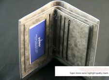 Bifold Leather Wallet for Men Credit ID Card Multi Pockets Clutch Purse USA FAST