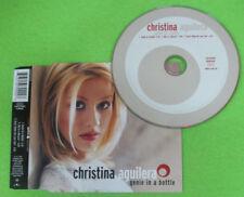 CD Singolo CHRISTINA AGUILERA Genie in a bottle 1999 eu RCA no mc lp vhs (S28)