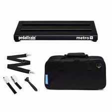 "PedalTrain PT-M16-SC METRO 16 Pedalboard With Soft Case 16"" x 8"""