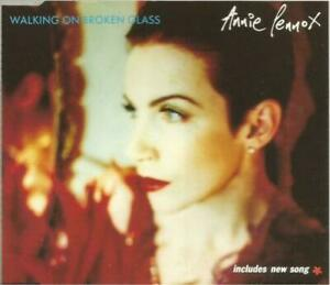 Rare UK CD Single - Annie Lennox - Walking on Broken Glass
