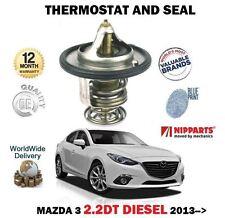 para MAZDA 3 BM 2.2dt Diesel 2013> Nuevo Termostato GOMA Y JUEGO DE JUNTAS