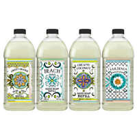 4-pack Home and Body Hand Soap Refill Washing Liquid For  Cleaning NEW