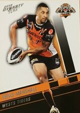 2012 NRL SELECT DYNASTY WESTS TIGERS #192 BENJI MARSHALL COMMON CARD FREE POST