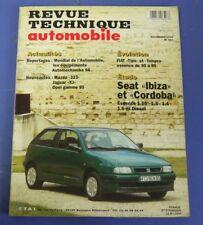 Revue technique automobile rta 567 1994 Seat Ibiza et cordoba