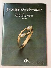 Vintage Australian Jeweller Watchmaker & Giftware Brochures January 1980