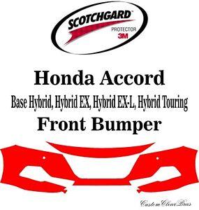 3M Scotchgard Paint Protection Film Clear Pre Cut 2021 2022 Honda Accord Sedan