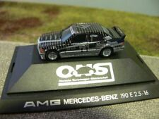 1/87 Herpa MB 190 e 2.5-16 AMG DTM Thiim #6 3521 sin embalaje