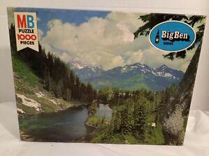 Vintage 1978 Sealed Big Ben MT. BAKER WASHINGTON 1000 Pc.Puzzle Milton Bradley