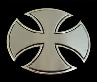 COOL IRON CROSS IRISH GOTHIC CRUZADER BELT BUCKLE BOUCLE DE CEINTURE