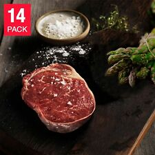 Great Southern Grass Fed Beef Ribeye Steaks12 oz 14-pack