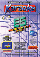 Chartbuster Essential 450 Karaoke Songs Vol 5 SD Card or USB CDG Music 4 PLAYER