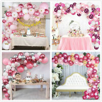 Latex Confetti Balloon Garland Arch Kit Birthday Wedding Party Baby Shower Decor