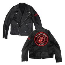 Import T-shirt Rolling Stones (the) - Zc15 Leather (giacca Moto Unisex Tg. 2xl)