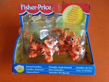 FISHER PRICE FAMIGLIE DEGLI ANIMALI ZOO 1997 VINTAGE NUOVO IN SCATOLA