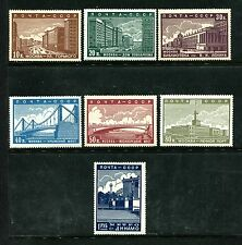 Russia 706-712 MNH, Moscow scenes, 1939 Gorki Street, Council House  x22133