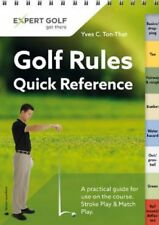 Golf Rules Quick Reference 2016 Single Copy by Yves C. Ton-That 9783909596843