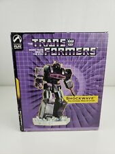 "Transformers ShockWave 6"" Polystone Statue Palisades Toys NEW - 824/1000 Hasbro"