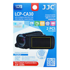 2x Film LCD Screen Display H3 Hard Protection for Canon Camcorder 3.0'' inches