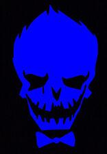 Blue Joker Decal Car Sticker Laptop Dc Comics Harley Quinn Suicide Squad