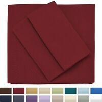 Cosy House Collection Premium Bamboo Bed Sheets Set - Deep Pocket - Ultra Soft