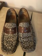15069ae2ee2 Vintage Coach Logo Loafers Mens Size 10D