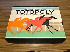 Vintage Waddingtons Totopoly Horse Racing Game monopoly maker - NO BOARD