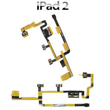 For Apple iPad 2 Main Power on Off Volume Control Flex Cable Vibrator Switch