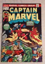 Captain Marvel #27 (Jul 1973, Marvel) MID/HIGH GRADE -- 3rd THANOS