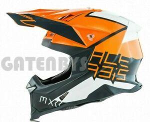 Acerbis X-RACER VTR FIBREGLASS Motocross Enduro Helmet A.C.U KTM SX SXF EXC