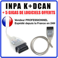 INPA K+DCAN K-CAN BMW & MINI - Interface Diagnostique - BMW SCANNER  EDIABAS OBD