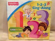 Various Artist Fisher-Price Little People 1-2-3 Sing-Along CD New Kids Songs Y32