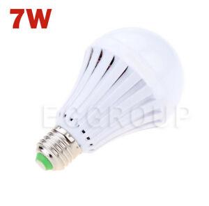 7W/9W E27 LED Smart Light Rechargeable Emergency Light Lamp Bulb For Home 2020