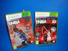Game For Console Xbox X Box 360 - NBA 2K15 and nba 2K16