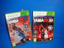 Juego Para Consola Xbox X Box 360 -  NBA 2K15 y NBA 2K16