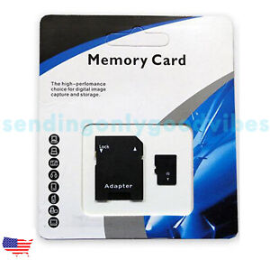 64/128/256/512GB/1TB Universal Micro SD SDXC TF Flash Memory Card Class 10