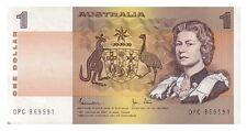 1982 Australia Johnston/Stone $1 Decimal Paper Banknote