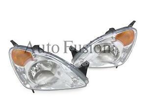 Headlights Pair For Honda CR-V RD  (2001-2004)