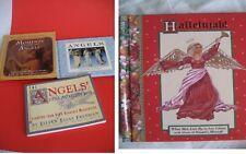 4 Angel Books Angels' Little Instruction Book Moments Messengers Hallelujah