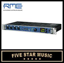 RME FIREFACE UFX 60 CH RACKMOUNT USB FIREWIRE AUDIO INTERFACE MIDI FIRE FACE NEW