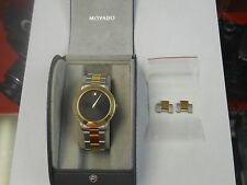Movado 81.C2.862.2 Stainless Steel Two Tone Swiss Movement Watch