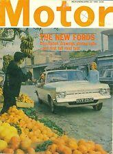 MOTOR magazine 23/4/66 feat. Zodiac Mk4, electric Mini, Circuit of Ireland, NY
