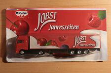 Modellino autocarro per birra Rimorchio trasporto MAN Dr.Oetker JOBST stagioni