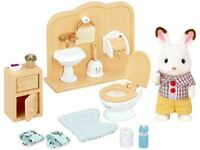 SYLVANIAN FAMILIES CHOCOLATE RABBIT BROTHER SET TOY