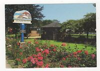 The Town Sign & Gardens Mundesley Norfolk 1999 Postcard 352a