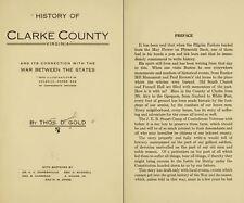 1914 CLARKE County, Virginia VA, History & Genealogy Family Tree DVD CD B49