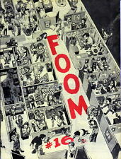 F.O.O.M. Friends Of Ol' Marvel Magazine #16 Marie Severin 1976 FOOM