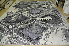 India 6x8 170x240 Hand Knotted Indo Tibet Nepalese Bamboo Silk Carpet Rug Hali