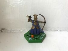 LORD OF THE RINGS COMBAT HEX MINIATURES - HIGH ELF ARCHER GAME PIECE FIGURE